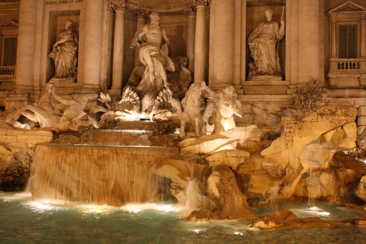 week end rome fontaine trevi
